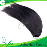 Factory Wholesale 100% Remy Human Seamless Tape Hair Extension