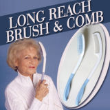 Long Reach Hair Brush, Long Handle Comb