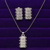 Fashion Imitation Jewellery Set, Necklace Set (1017-195)