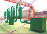 China Wood Sawdust Rice Husk Powder Small Sawdust Dryer Machine