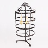 4 Layers Rotatable Metal Jewelry Display (MR-13)