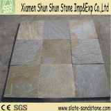 Hot Sell Yellow Slate Stone Veneer Floor Tile