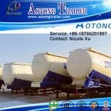 3 Axle 30t Low Density Bulk Cement Tank Semi Truck Trailer (W type) 73m³ (LAT9408GFL)