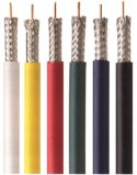 Customer Made Color Jacket RG6 Coaxial Cable Soild Cable