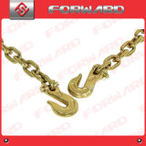 G70 Us Type Transport Chain with Clevis Grab Hook and Pear Link