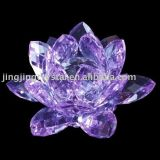 Crystal Lotus Flower for Gifts with Popular Styles in China