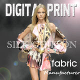 2017 New Style Digital Chiffon Printing