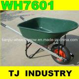 America Market 100L 7 Cbf Aluminum Alloy Handle Plastic Tray Wheel Barrow Wh7601 From Wheelbarrow Manufacturer
