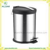 Hotel Stainless Steel 5L Pedal Dust Bin Garbage Bin