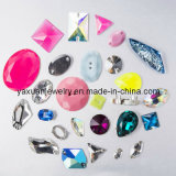 Environmental Epoxy Resin Button Chaton Bead Stone
