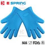 Heat Resistant Oven Gloves Insulated Silicone Oven Mitts for Grilling Cookware