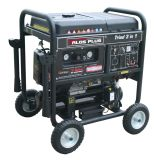 Combined Compressor with Generator/Welder Powered by Gasoline Engine (TG4000GAW)