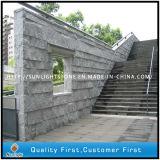 G654 Dark Grey Granite Mushroom Wall Stone for Building Wall