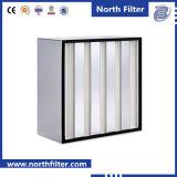 Filter Media Fiberglass Compact V Bank High Volume HEPA Filter