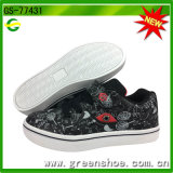 New Design Children Breathable PU Handmade Comfort Casual Shoes