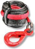 "3/8""X50′optima G Winch Line 12s, Winch Rope, Offroad Ropes, Tow Ropes, Thimbe Eys with Hooks"