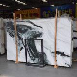 Natural Stone Panda White Marble Flooring Slabs for House