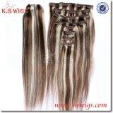 Top Virgin Remy Hair Clip in Human Hair