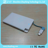 Bank Promotional Gift Aluminum Card 2500mAh Power Bank (ZYF8017)