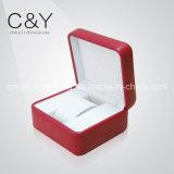 Red Elegant Design Plastic Watch Box