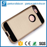 New Production Brush Satin Cell Phone Case for iPhone7plus