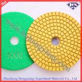 4′′ Flexible Dry Abrasive Diamond Polishing Pad (HXDRY)