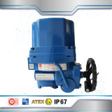 Union Electric Actuator 2 Way Ball Valve