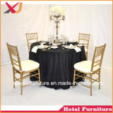 Outdoor Furniture Steel/Aluminum/Acrylic Chiavari Chair for Banquet/Hotel/Dining Room Furniture