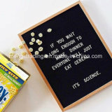 Felt Letter Board with Display Changebale Plastic White Letters