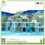 Merry Christmas! ! ! Professional Chindren Ice Theme Indoor Soft Amusement Equipment