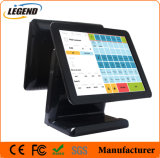 """15"""" Dual Screen Capacitive Touch All in One Cash Register"""