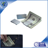Cool Stamping Parts Large Simple Spring Steel Money Clip with Customized Logo
