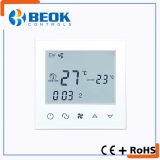 Programmable Touch Screen Air Conditioning Thermostat for Fan Coil Unit