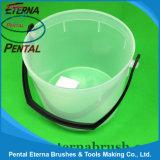 1.5L 2.5L Plastic Paint Bucket for Paint Oil