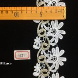 6.5cm Gorgeous Embroidered Broderie Anglaise Cotton Lace Trim Hme891