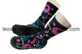 Indoor Shoe Socks with Anti-Slip Foot for Bedroom