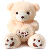 Valentine′s Day Plush Bear Soft Toy&Soft Toy Bear&Plush Bear with Heart