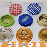 Vintage Design Glass Mason Jar Lids