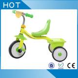 Steel Frame 3 Wheels Children Bike with Rear Basket