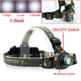 Fishing Motion Sensor LED Headlamps, Hand Moving Switch Surgical Head Light