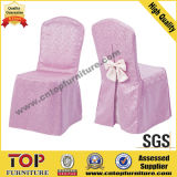 Elastic Rental Banquet Chair Covers with Bow