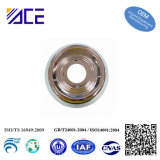 Brass Stamped Metal Part with Nickel Plating,