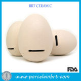 Simulation Eggs Ceramic Money Saving Coin Bank