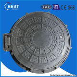 En124 C250 Ship Used Sewer Hinged Composite Manhole Cover Price