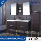 Floor Standing PVC Bathroom Vanity with Double Basin