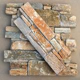 Hot Sell China P014 Slate Wall Panel Cement Back Ledge Stone