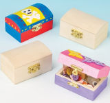 Manual Painted Wooden Treasure Chests