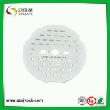 White Solder Mask LED Round PCB Board