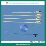 Two Way or Three Way Silicone Foley Catheter for Medical with CE&ISO
