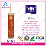 Fast Dry Acetic Cure Silicone Sealant